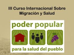 Poder popular - para la salud del pueblo (Rico