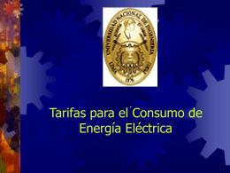 Cargo por energía