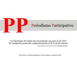 Periodismo Participativo