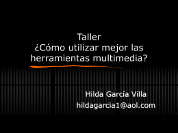 TallerGDL2 - Centro de Formación en Periodismo Digital
