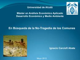 Presentacion Comunes Clase 3 de mayo