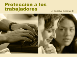 Protección a los trabajadores