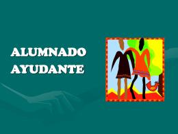 EL MODELO DE ALUMNADO AYUDANTE COMO