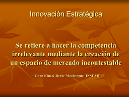 Innovación estrategica