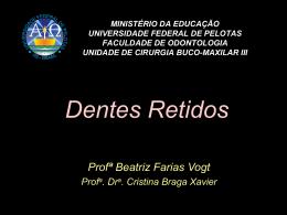 Dentes Retidos ucbmIII sem figura