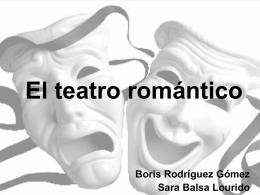 El teatro romántico