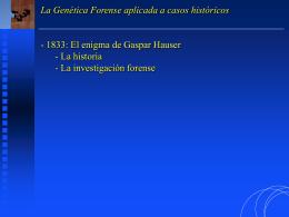 02- El enigma de Gaspar Hauser