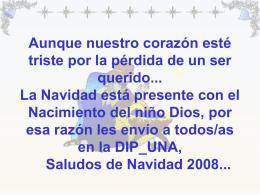 Feliz Navidad 2008 y Próspero Año 2009