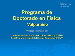 UTFSM-PUCV - Instituto de Astrofísica