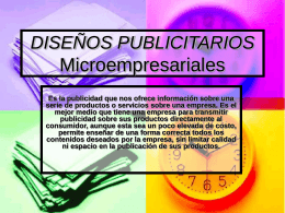 DISEÑO DE CATÁLOGOS PUBLICITARIOS