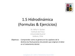 1.5 Hidrodinamica