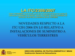 esta presentación - Ministerio de Industria, Energía y Turismo