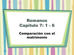 Romanos Capítulo 7: 1 - 6 - Iglesia Cristiana La Serena