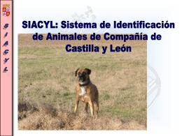 SIACYL - Junta de Castilla y León