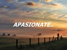 Apasiónate