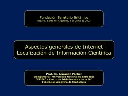 Introducción a servicios de Internet