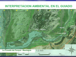 INTERPRETACION AMBIENTAL EN EL GUIADO
