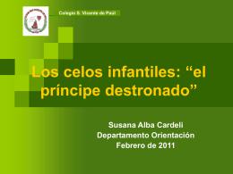 Los celos infantiles - Dpto. de Orientación San Vicente de Paúl Gijón