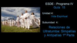 GUIA 15 - Centro de Estudios Espiritas Sin Fronteras