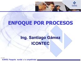 ENFOQUE PROCESOS ICONTEC