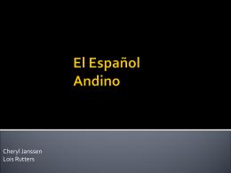 El Español de Peru