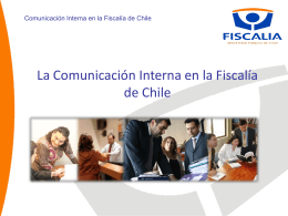 Comunicación Interna y administración pública