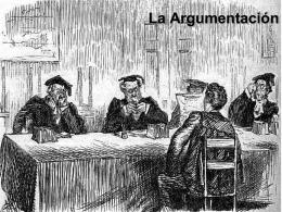 La argumentación - Un lugar propio