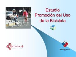 Estudio Promoción del Uso de la Bicicleta