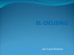 Javier Luna EL CICLISMO