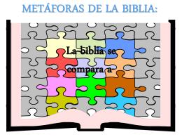 LA BIBLIA se COMPARA A