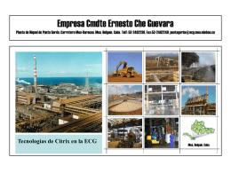Empresa Cmdte Ernesto Che Guevara Planta de Niquel de Punta
