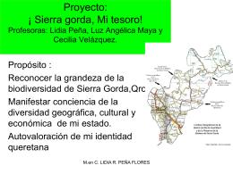 Proyec SIERRA GORDA