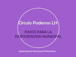 Círculo Podemos LH procesos municip