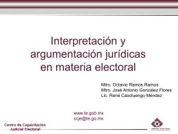 Interpretación y Argumentación (2)
