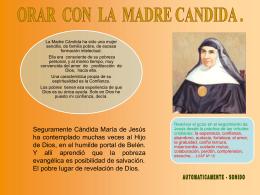 Orar con la M. Cándida IV (Argentina)