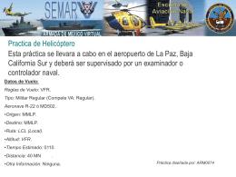Practica de Helicóptero