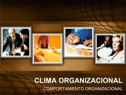 Clima Organizacional Completo