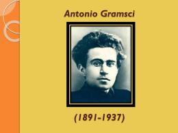 Antonio Gramsci (1891