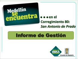 Diapositiva 1 - Alcaldía de Medellín