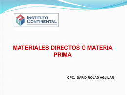 materia prima - WordPress.com