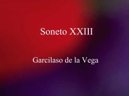 Soneto XXIII