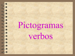 Pictogramas verbos - Disfasia en Zaragoza