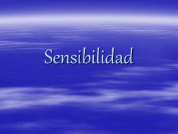 12a SENSIBILIDAD