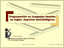 (a). Objetivo - IAAA - Universidad de Zaragoza