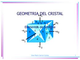 Geometria del Cristal