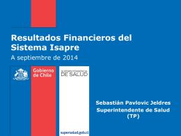 Resultados Financieros del Sistema Isapre