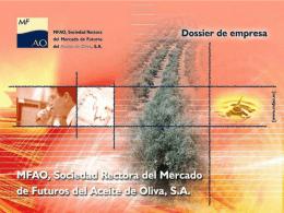 Diapositiva 1 - Mercado de futuros del aceite de oliva