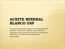 aceite mineral blanco usp