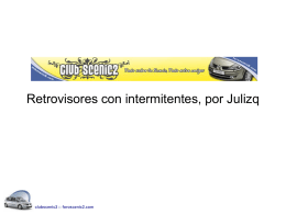 Retrovisores con intermitentes
