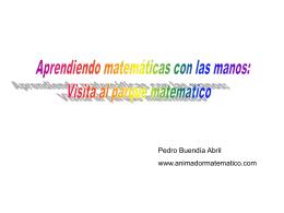 Aprendiendo Matematicas